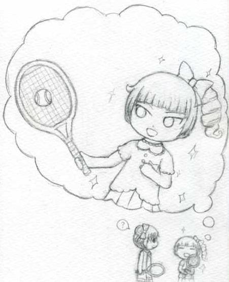 テニスの女王様
