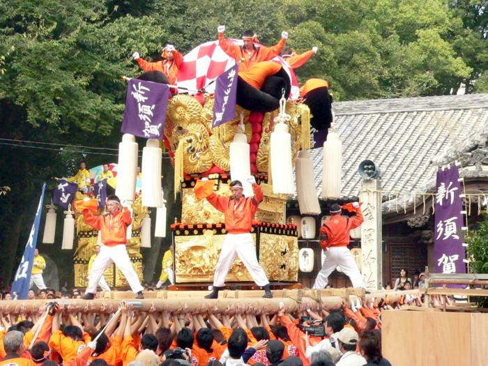 一宮神社の新須賀太鼓台