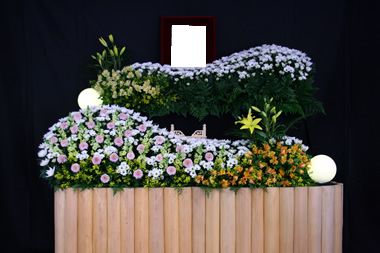 黄色花祭壇1