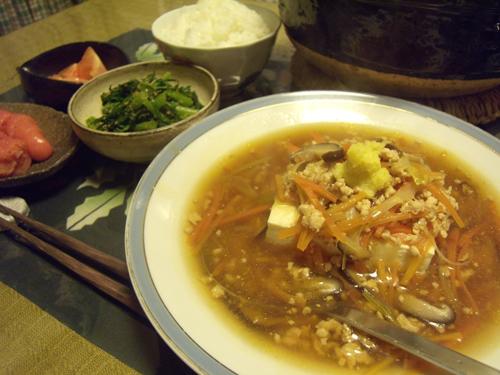 5あんかけ豆腐定食