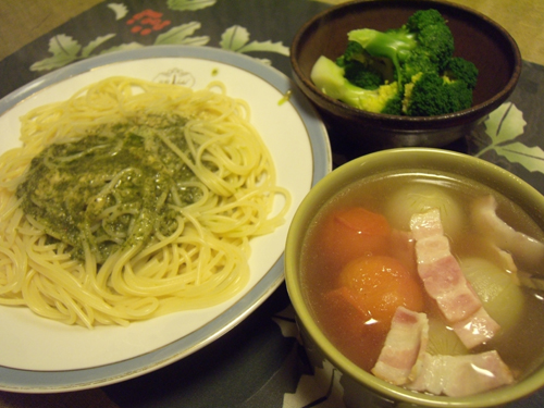 5ジェノベーゼ定食