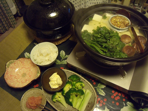 6湯豆腐定食