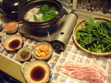 12常夜鍋定食