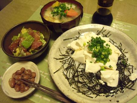 5豆腐丼定食