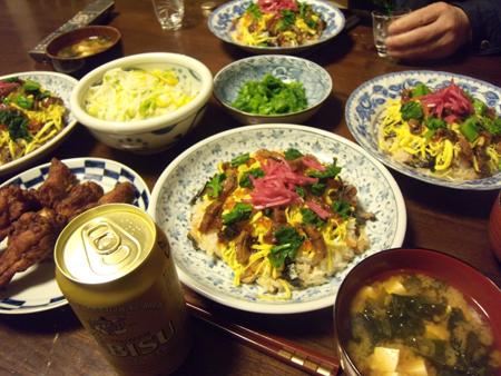 5ちらし寿司ご相伴