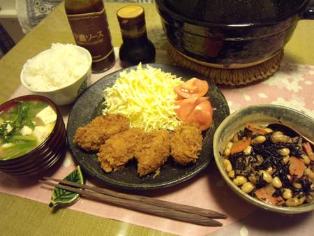 7牡蠣フライ定食