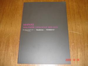マナトレーディング壁紙(クロス)カタログ表紙