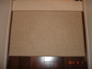 余ったカーペットで玄関マット 東リフレンドエージFD5544