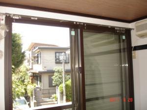 三協立山アルミ後付樹脂内窓「プラメイクE」+日本板硝子セキュオ30アップ