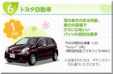 【応募469台目】:トヨタ 「パッソ」