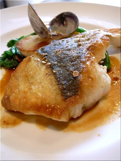 ラ・サンテ 魚料理