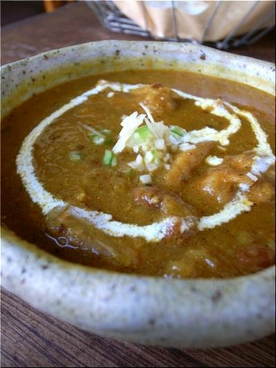 サジロカフェ チキンと豆