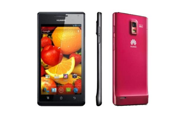 Huawei、世界最薄(6.68mm)スマートフォン、Ascend P1S発表