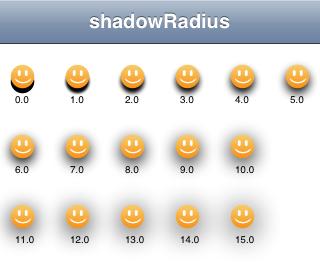 shadowRadius