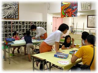 盆踊り2009@高円寺中学校:ゲームコーナー