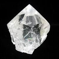 レインボー水晶ポイント